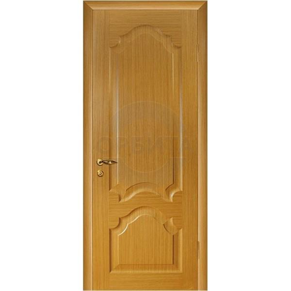 Дверь шпонированная межкомнатная глухая Каролина (Т-03)