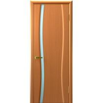 Дверь шпонированная межкомнатная остекленная Клеопатра 1