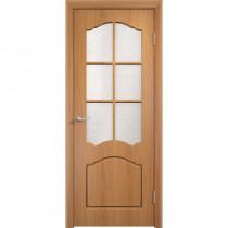 Дверь межкомнатная ламинированная остекленная Лидия