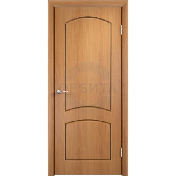 Дверь межкомнатная ламинированная остекленная Кэрол