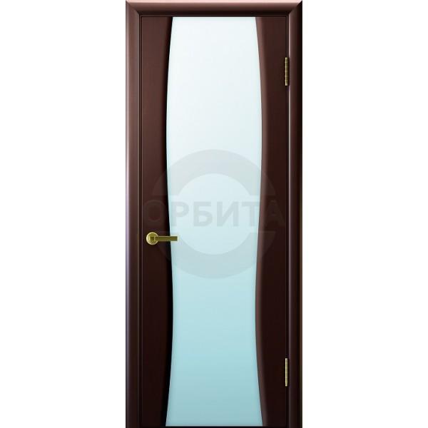 Дверь шпонированная межкомнатная остекленная Клеопатра 2