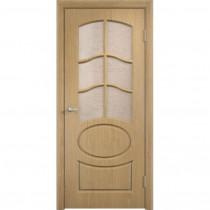 Дверь межкомнатная ламинированная остекленная Неаполь 2