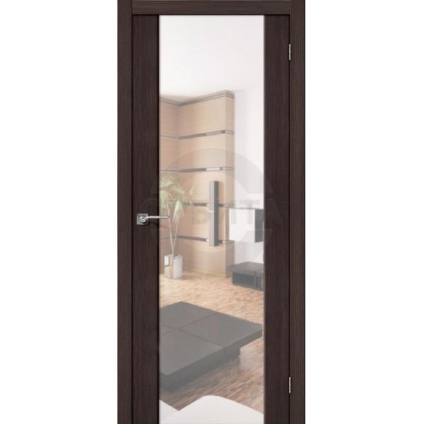 Дверь межкомнатная экошпон остекленная S-13 Reflex
