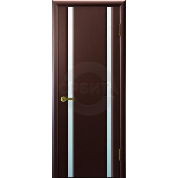 Дверь шпонированная межкомнатная остекленная Синай 2
