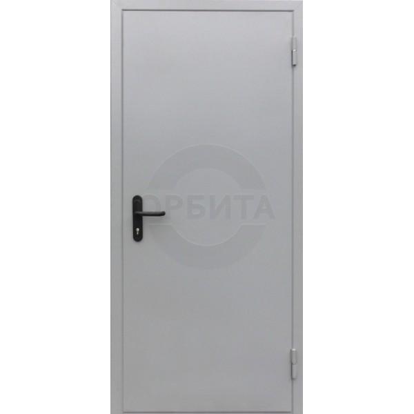 Дверь металлическая противопожарная EI60 RAL7035
