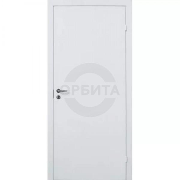 Окрашенная дверь финского типа с четвертью