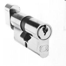 Цилиндр DL Standart 30 х 30 ключ/поворотник
